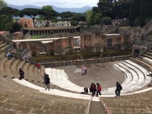 Larger amphitheatre in Pompeii
