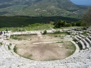 Ruins of Greek amphitheatre