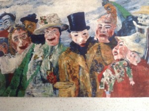 Die Intrigue by James Ensor 1890