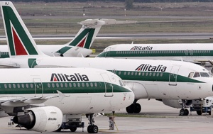 Alitalia was pleasant but not efficient