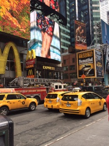 Busy streets of Broadway