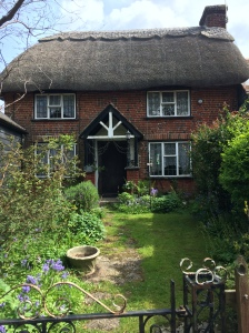 A thatched cottage in the New Forest