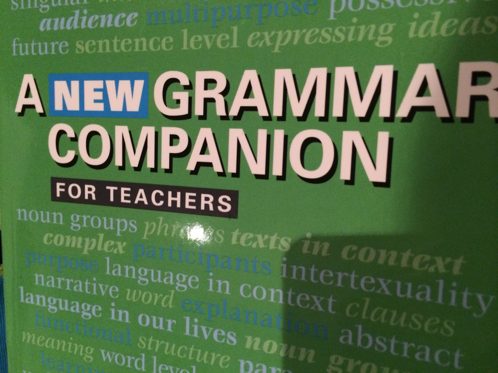 This 'New Grammar Companion' supersedes the other 'Grammar Companion' which is still quite adequate but not as in line with the 'new' English Syllabus.