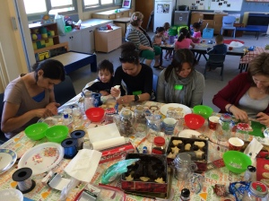 Chatting, making and forming a trusting community